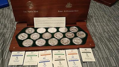 The Sydney 2000 Olympic Silver Coin Collection Royal Australian Mint