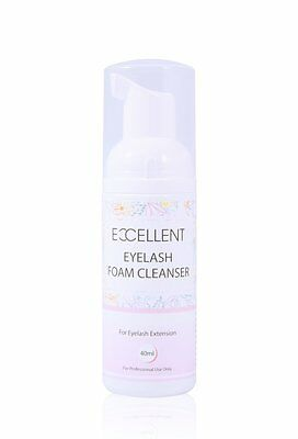 Excellent Eyelash Foam Cleanser For Eyelash Extension 40ml
