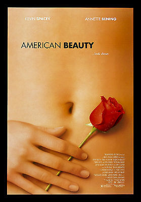 AMERICAN BEAUTY * CineMasterpieces ORIGINAL MOVIE POSTER ROLLED NM DS ROSE 1999
