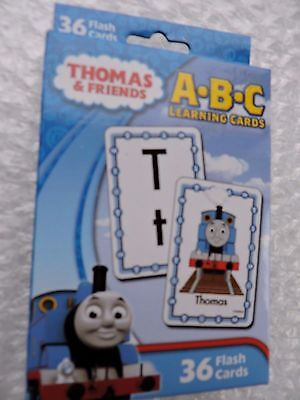 THOMAS and Friends ALPHABET, 36 Learning cards a through z Letters