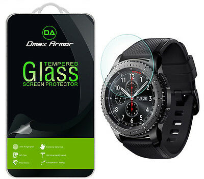Dmax Armor Tempered Glass Screen Protector For Samsung Gear S3 Frontier