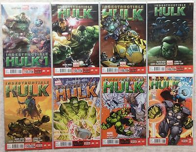 Indestructible Hulk complete series #1 - #20 + Ann + Special (Marvel 2013) FN-NM