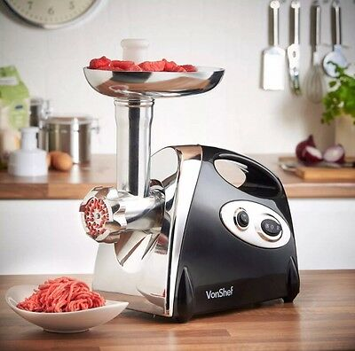 Electric Meat Grinder Sausage Kebbe Maker Kitchen Butcher Ground Mince Machine