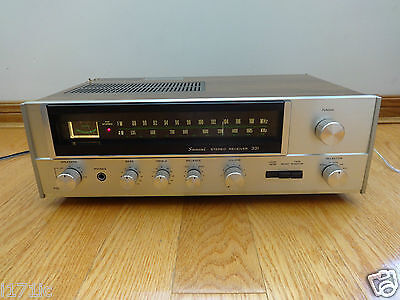 Sansui 331 Stereo Receiver 1976 Japan TESTED 100% Works Great!