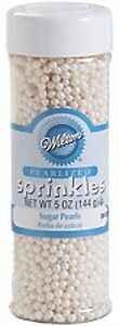 Wilton Sugar Pearls - White