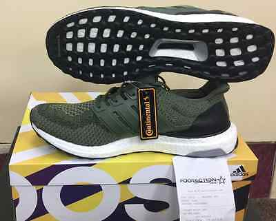 brand new ba062 8c497 Adidas Ultra Boost M 2.0 Olive Green And Black BB6055 Merino Wool AUTHENTIC  yeez