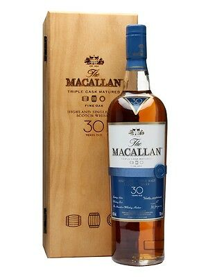 Macallan 30 Year Old Fine Oak Single Malt Scotch Whisky 700ml in Box