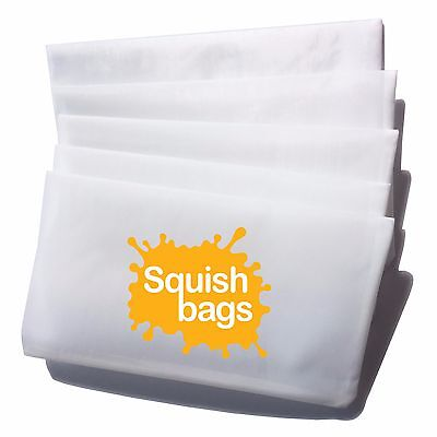 "Squish Rosin Press Bags - 37 micron (2.5"" x 4"") - 50 pack"