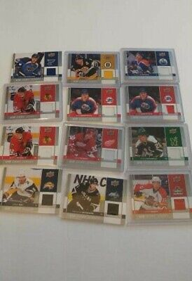 2009-10 Upper Deck Series 1 One Game Used Jersey GJ Lot UPick