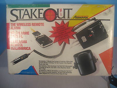 Audiovox Stakeout Auto Wireless Remote Security System