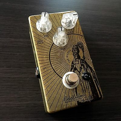 ODDFELLOW EFFECTS Bishop Overdrive Guitar Pedal