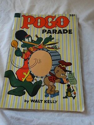 Vintage 50s POGO PARADE by Walt Kelly DELL #1 GIANT Comic BOOK 1953 Nice