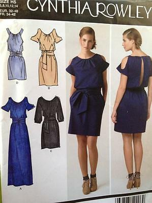 Simplicity Sewing Pattern 2406 Ladies / Misses Dress -Three Length Size 14-22 UC
