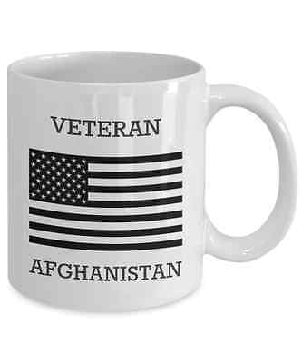Afghanistan Veteran 11 oz. Coffee Mug Thanks For Your Service
