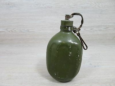 WW2 Antique Military Canteen Water Bottle Flask