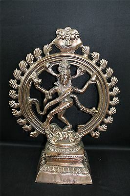 Natraj Statue Dancing Shiva Metal Idol Home Decor Item