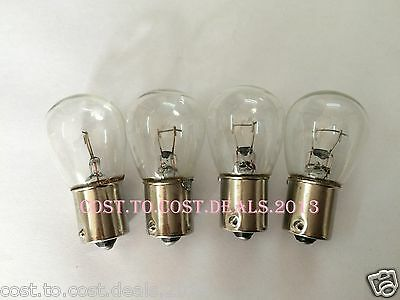 Vespa Indicator Bulbs clear PX or Disc also LML offset Pins BRAND NEW