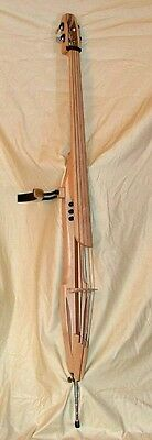 Electric Upright 4 string Double Bass by FarWest  Musical Instruments