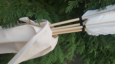 Arrow Bag / Quiver for Traditional/Medieval/Re-enactment archery