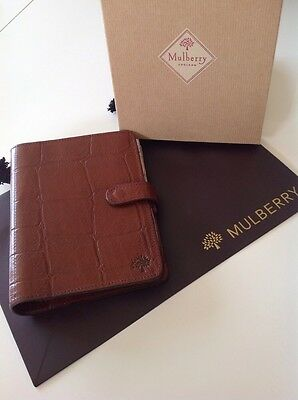 Mulberry Organiser In Brown Congo Leather