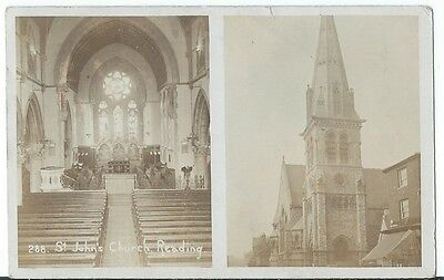 Reading Multiview Interior Exterior St Johns Church RP by Collier #288 Used 1908