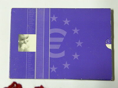 2003 Holland Euro 8 Münzen + Token Baby Coin Kms Folder Holand