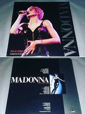 Madonna Lp  Vinyl Who's That Girl Tour Live Recorded In Tokyo Yne103-1  Unplayed