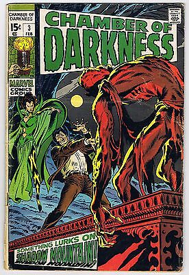 Chamber of Darkness #3 1969, Marvel - FN