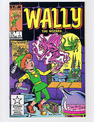 Wally the Wizard #1 1985, Star Comics  - VF/NM