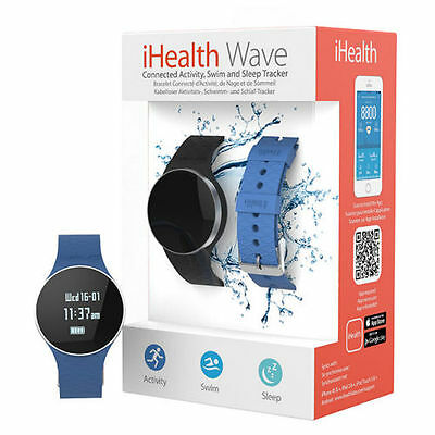 iHealth AM4 Wave Water-Resistant Activity Meter Watch - NEU/OVP