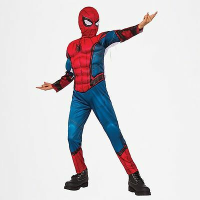 NEW Ultimate Spider-Man Kids Deluxe Costume