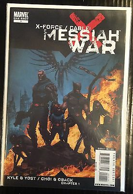 X-Force Cable Messiah War #1 Cover A VF+/NM- 1st Print Free UK P&P Marvel Comics