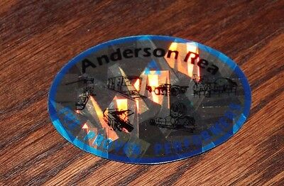 Anderson Rea Holographic Prisms Coal Miner Decal
