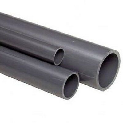 VDL PVC 10 Bar Rated Water Pipe 32mm Outside Diameter, 1.8mm Wall 5M Lengths