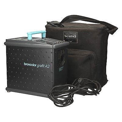 USED Broncolor Grafit A2 1600Ws Multi-Voltage Power Pack with Bowens Soft Case