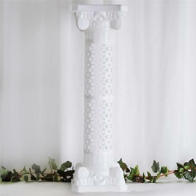 "4 pcs WHITE 41"" tall Wedding Roman Empire Columns Party Decorations"