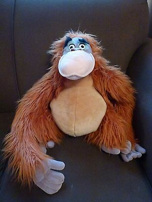 Jungle Book Soft Toy Teddy / King Louie / Disney Store King Louie