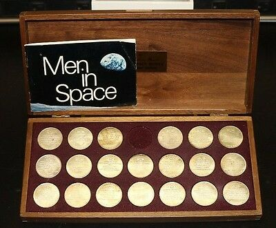 Danbury Mint Men in Space Series Special Mint Edition Sterling Silver Proof 470G