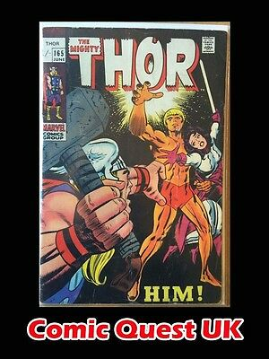 The Mighty Thor #165 ⭐️ 1st First Him Warlock ⭐️ Marvel Comics ⭐️ VG-