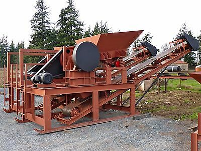 "Jaw Crusher Module 10"" x 16"" 20hp, for Concrete, Rock, Quartz, etc 5-20 tons/hr"
