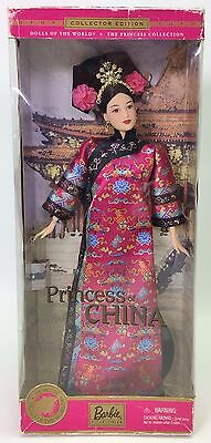 Barbie Princess Of China Dolls Of The World Collector Edition #4 Nrfb