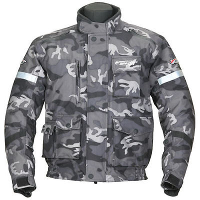 New XXL Black Camo Spada Waterproof Enduro Jacket Green Laning Trail Road