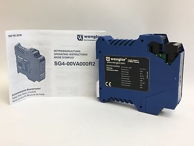 Wenglor SG4-00VA000R2 Safety Relay For Electric Curtains