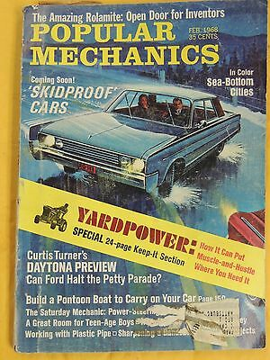 Popular Mechanics Magazine from the 1968, Choose ONE from my selection