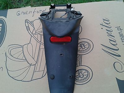 piaggio liberty 125 rear mudgaurd number plate holder plastic fairing 2013