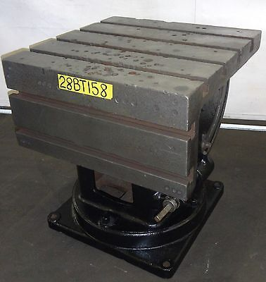 """28"""" x 28"""" Box Table Steel Workholding Radial Arm Drill Fixture"""