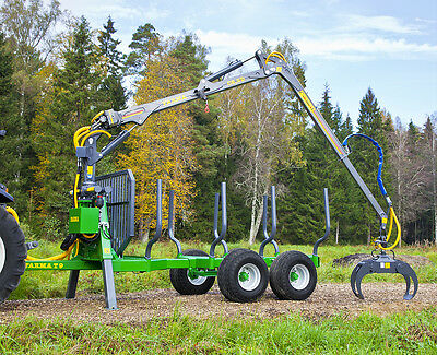 21' Log loader and Trailer-FREE SHIPPING plus 1000$ OFF