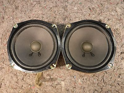 Bose Speakers For Cars >> 1 Pair Bose 5 25 Car Speakers 2 Ohm 25w 02 08 Mazda 6 Rear Doors Mazda Oem 4
