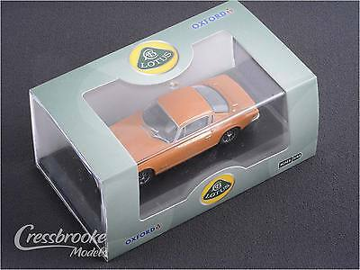 Lotus Elan + 2 in Bahama Yellow - 1/43 Oxford Diecast Model