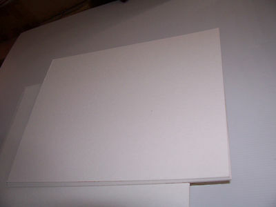 12 12 X 16 ACID FREE BACKER BOARD BACKING MATT 4 PLY 1/16th ARCHIVAL STORAGE ART